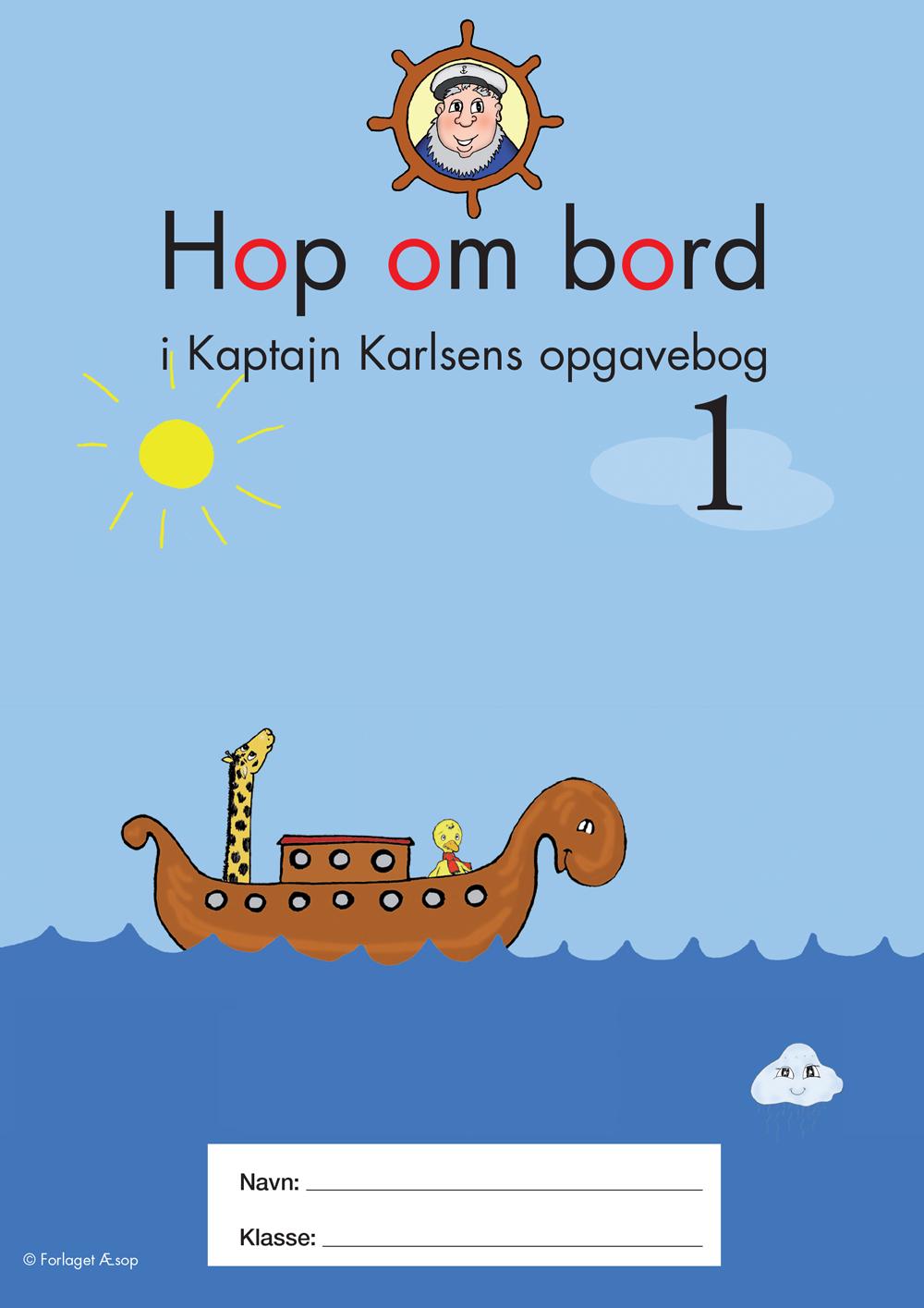hop om bord Hop om bord i Kaptajn Karlsens opgavebog 1 hop om bord