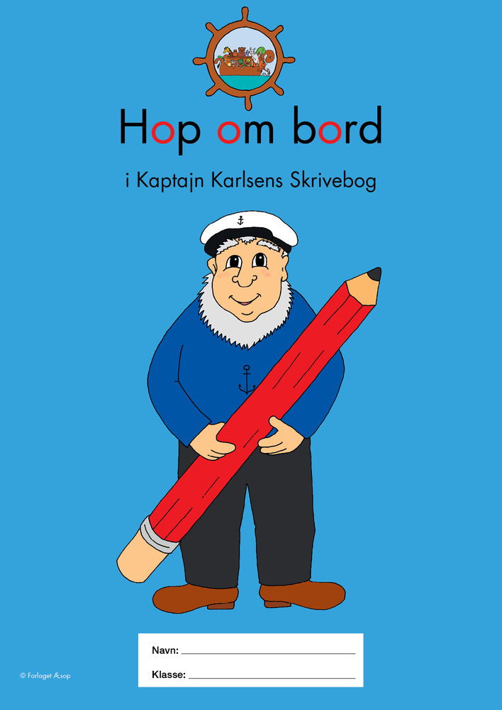 hop om bord Hop om bord i Kaptajn Karlsens Skrivebog hop om bord